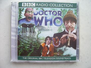 Doctor Who Fury from the Deep CD Audio Soundtrack  Patrick Troughton
